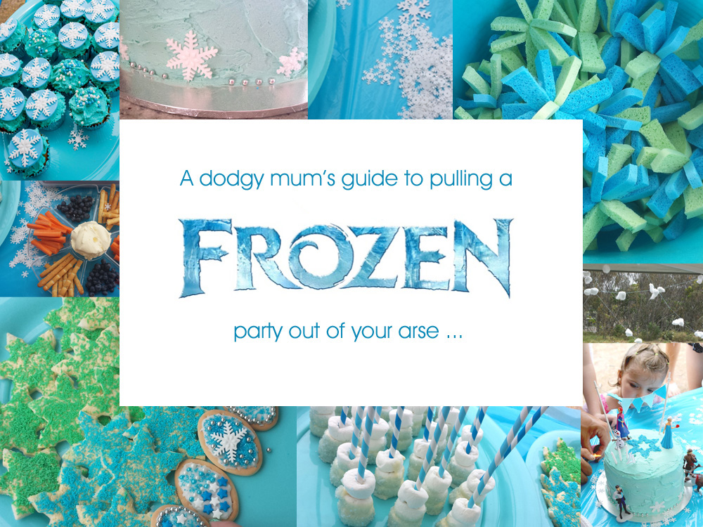 frozen party ideas, Rebel Without A Pause