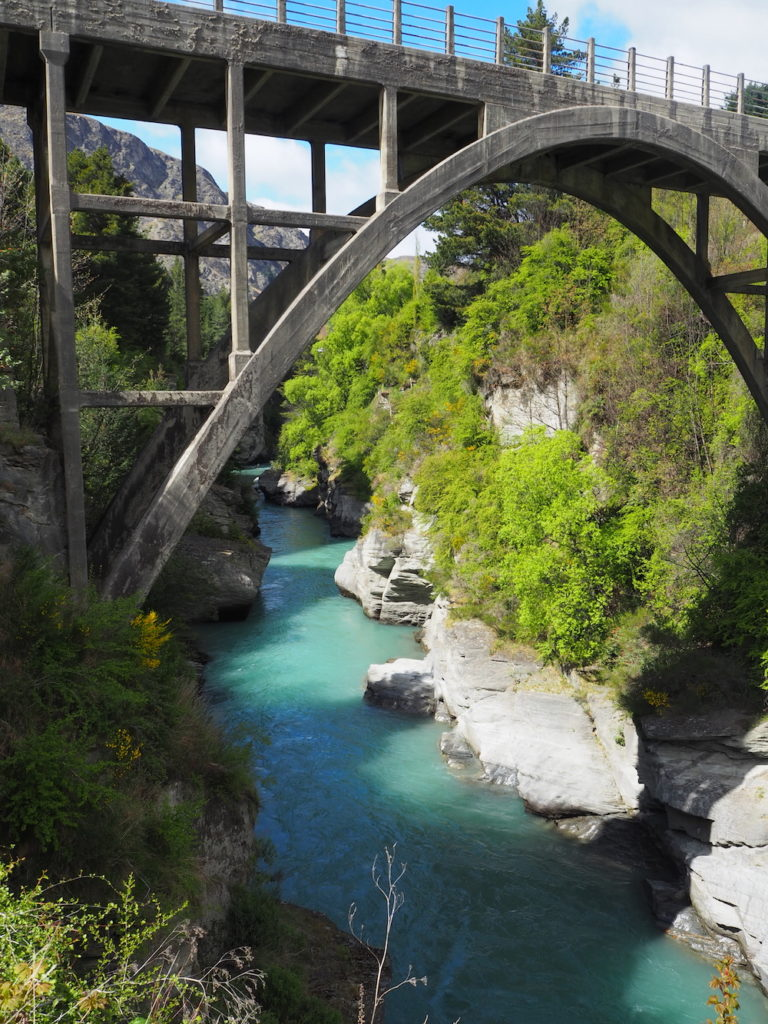 Image of Shotover bridge Queenstown Photography
